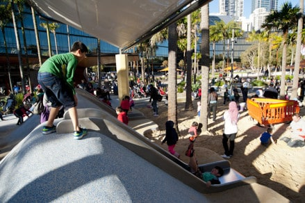 Darling Harbor Playground - Best Things to Do in Sydney With Kids