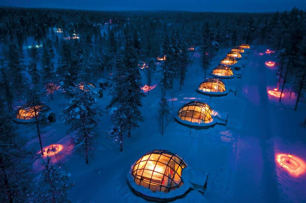 Kakslauttanen Hotel, - Unique Hotels in the World