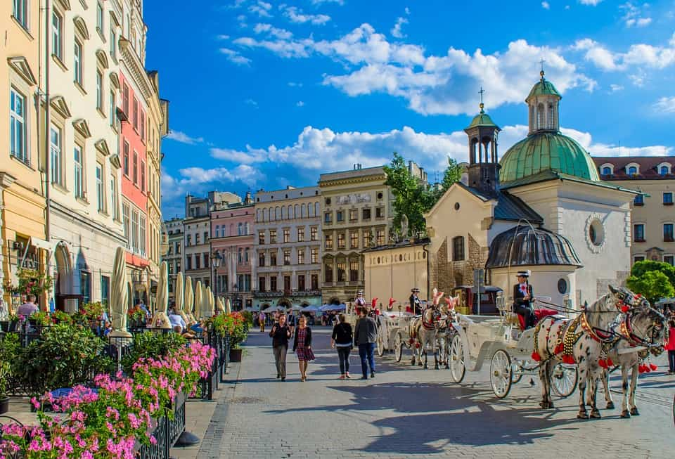 Krakow, Poland - Best European Countries To Travel With Kids