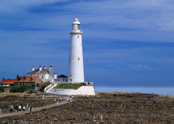 Mary's Lighthouse, Bait Island, United Kingdom