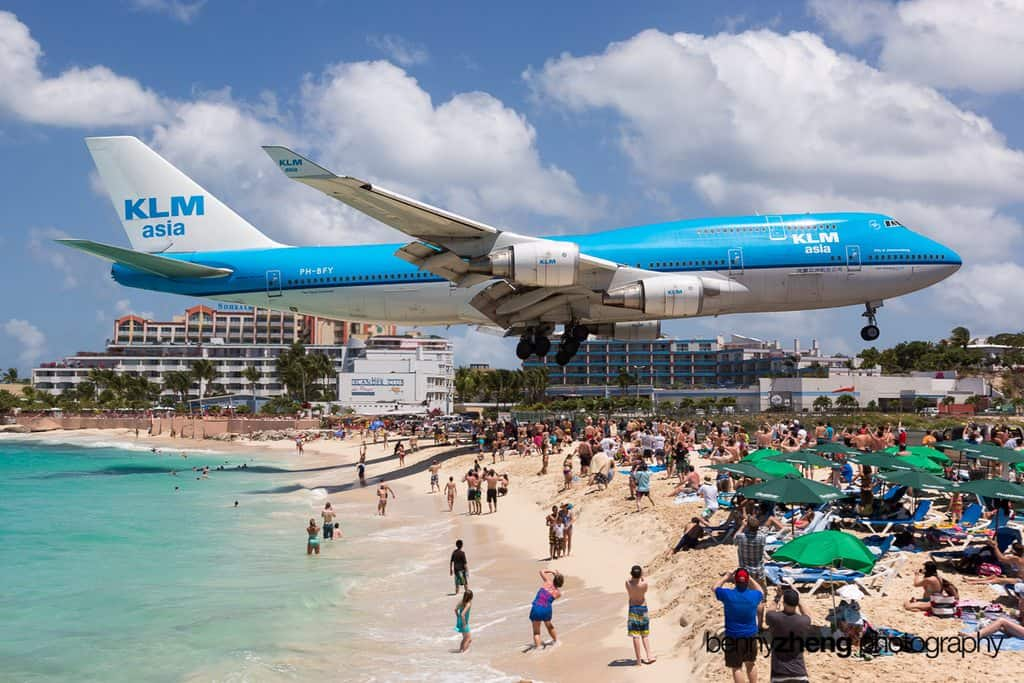 Maho Beach - Most Unique Beaches Around the World