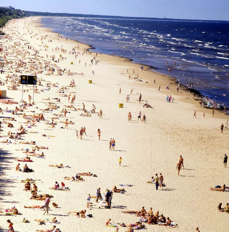 Jurmala Beach - Latvia with Kids