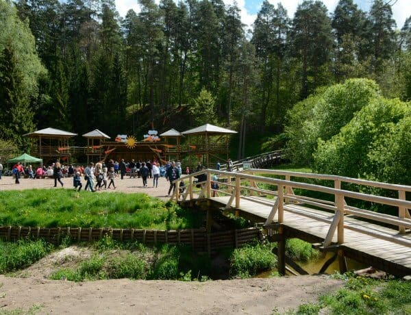Tērvete Nature Park - Latvia with Kids