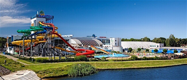 Līvu Aquapark - Latvia with Kids
