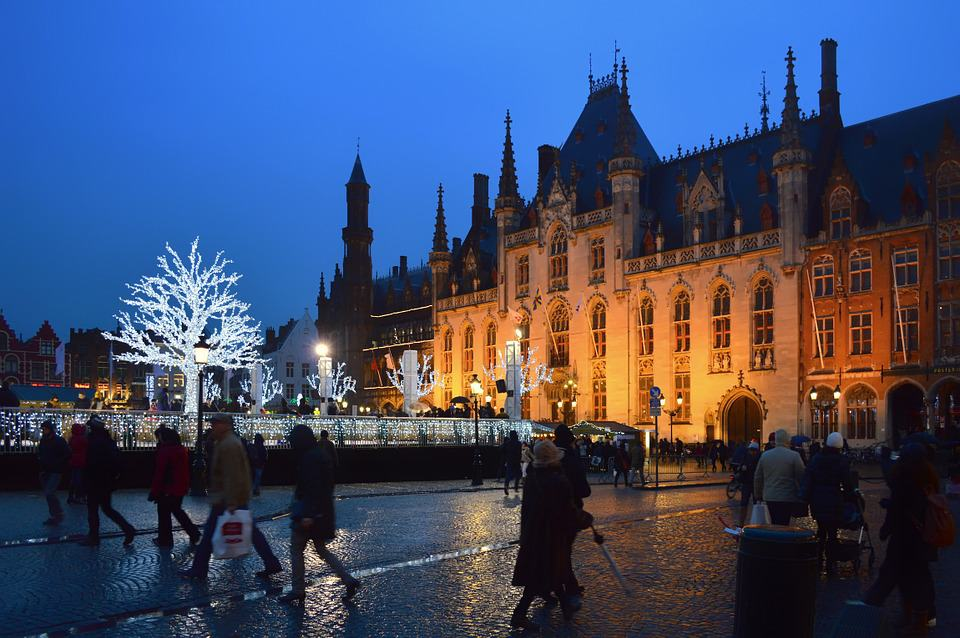 Bruges, Belgium - Unique Places to Celebrate the Winter Holidays