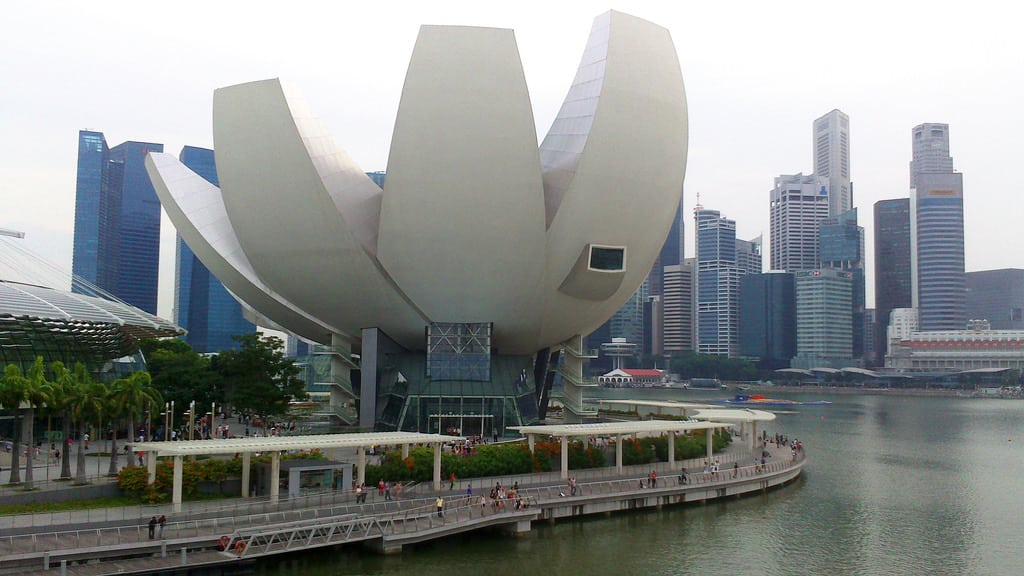 Lotus-shaped Art Science Museum