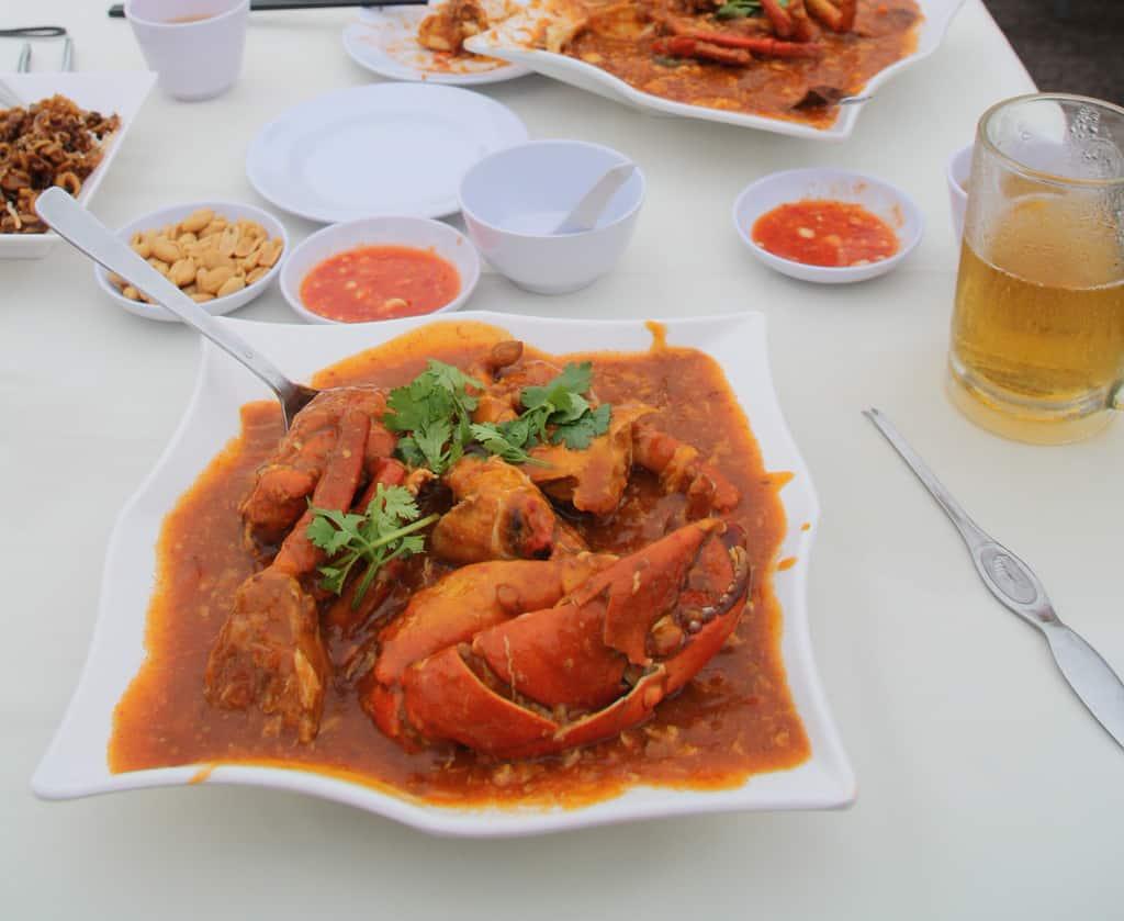Chili Crab - Must Eat Singaporean Dishes