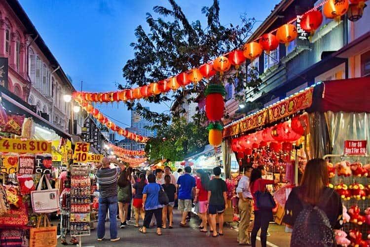 Pagoda Street in Singapore's Chinatown