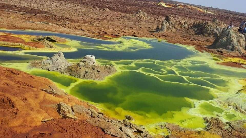 Dallol Volcano, Ethiopia - Magical Places You Won't Believe Exist In The World