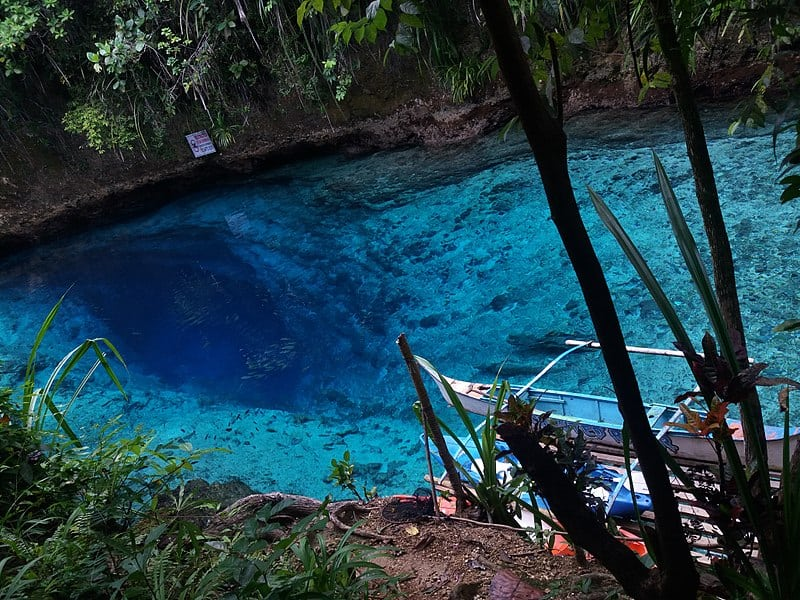 Enchanted Blue River, Philippine's