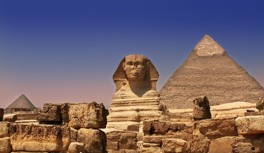 Pyramids of Giza - Africa With Kids