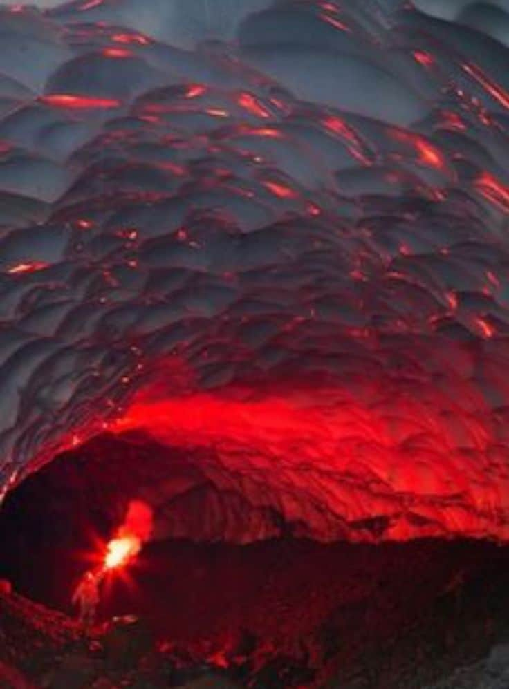 Ice Cave Near Mutnovsky Volcano, Russia - Magical Places You Won't Believe Exist In The World