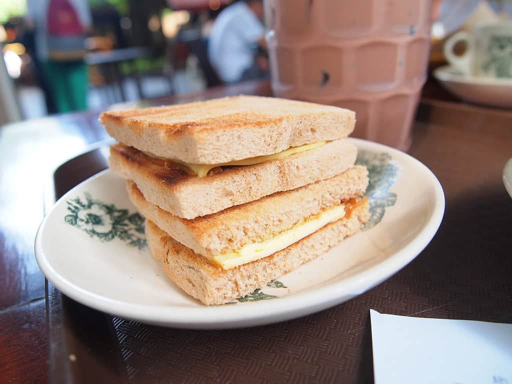 Kaya Toast - Must Eat Singaporean Dishes