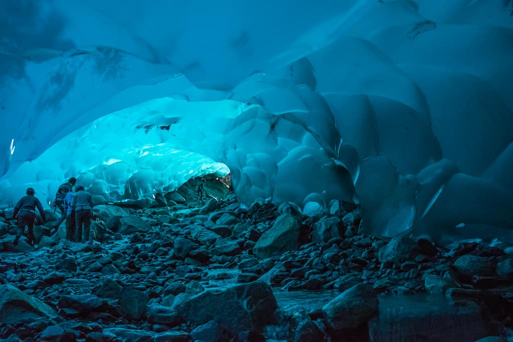 Mendenhall Ice Caves, Alaska - Magical Places You Won't Believe Exist In The World