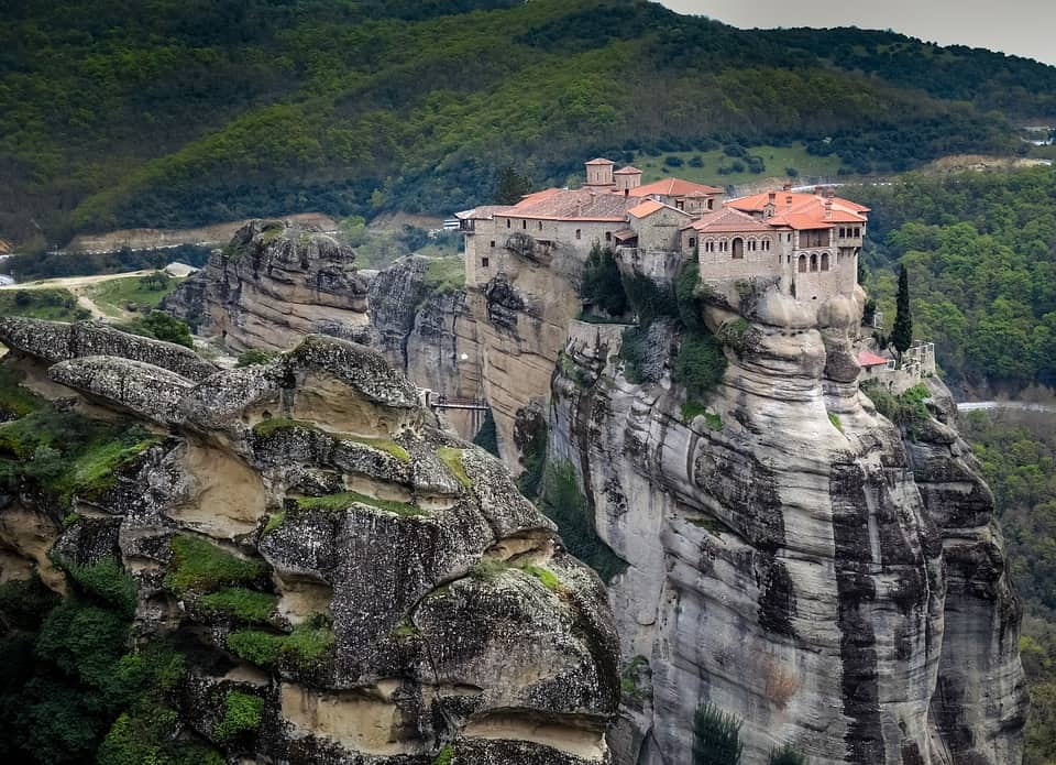 Meteora, Greece - Magical Places You Won't Believe Exist In The World