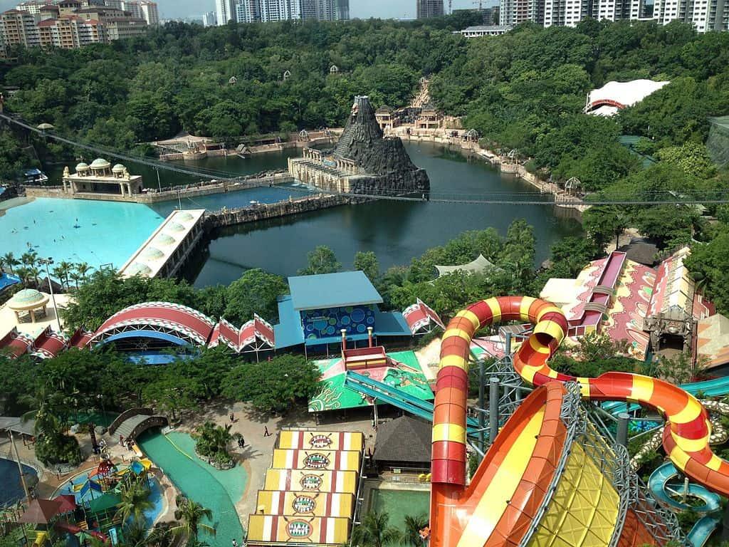 Sunway Lagoon - Malaysia with kids