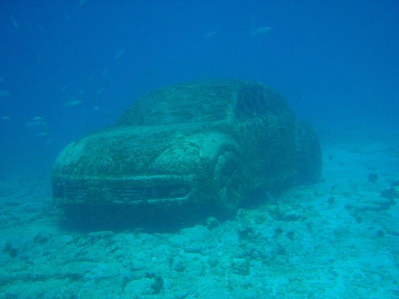 Underwater museum, Riviera Maya