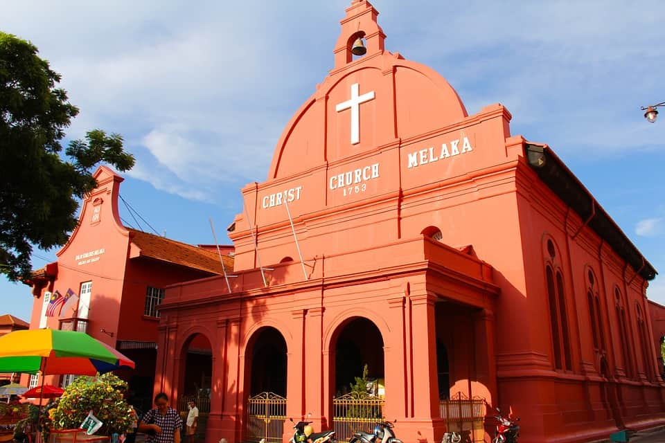 Malacca Church - Malaysia with kids