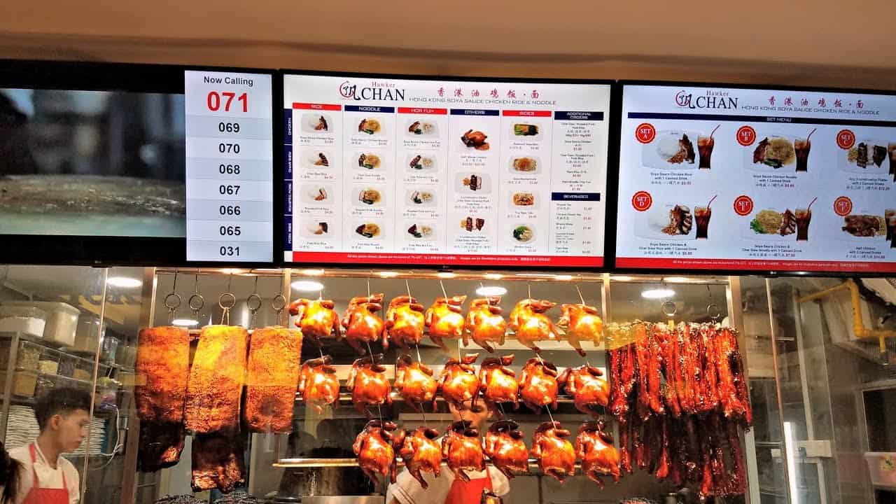 Singapore'sLiao FanHong KongSoya SauceChicken Rice& Noodle store.