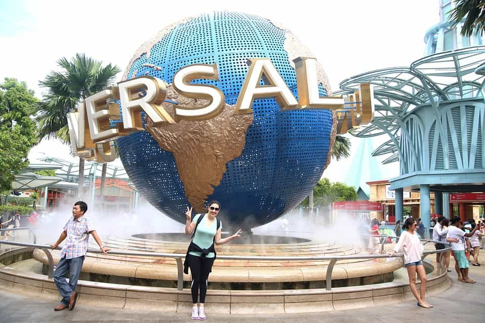 Universal Studio - Singapore With Kids