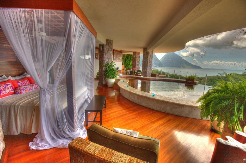 Jade Mountain - Best All-inclusive Caribbean Resorts