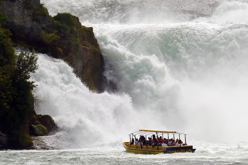 Rhine Falls - Best Places to Visit in Switzerland with the Family