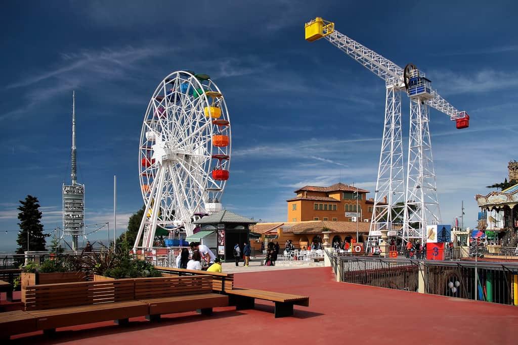 Tibidabo Amusement Park - Barcelona With Kids