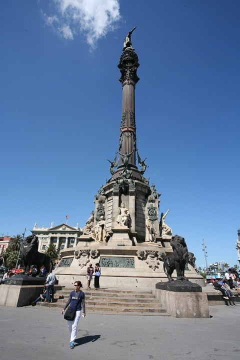 Christopher Columbus - Barcelona With Kids