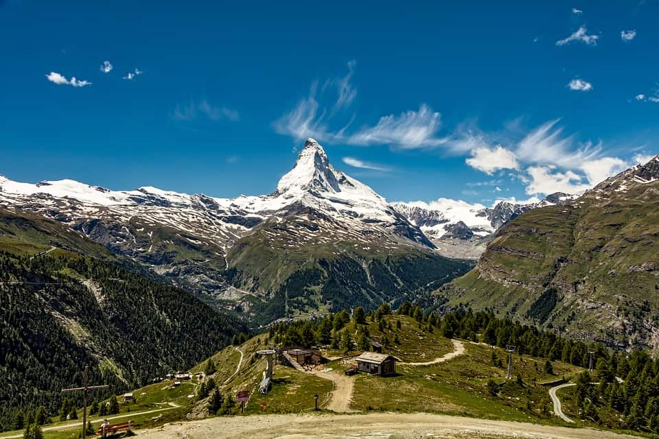 Matterhorn, Zermatt - Best Places to Visit in Switzerland with the Family
