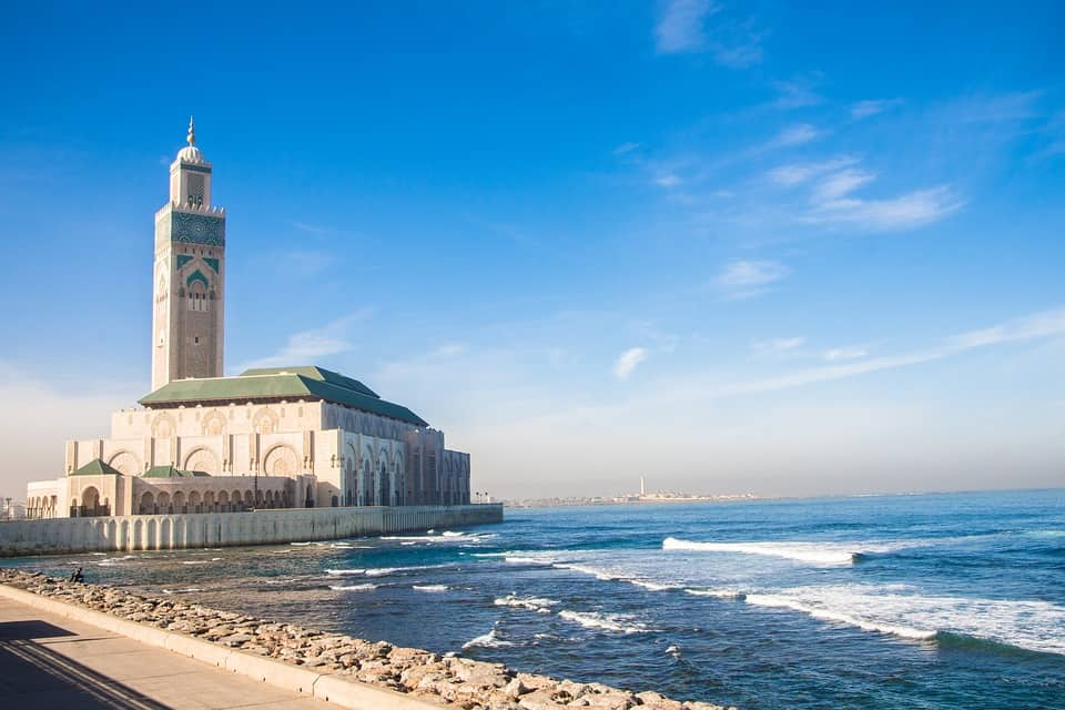 Grand Hassan II Mosque Casablanca, Morocco
