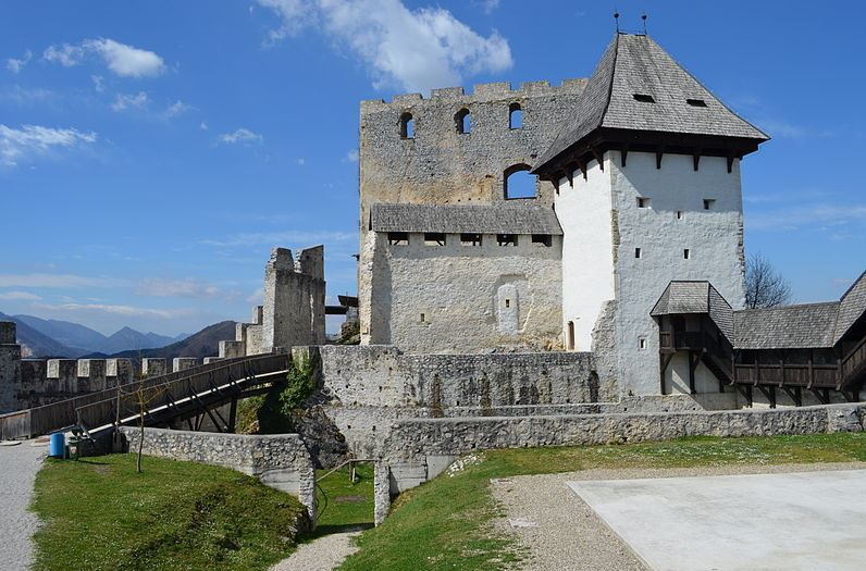 Celje old castle - Slovenia With Kids