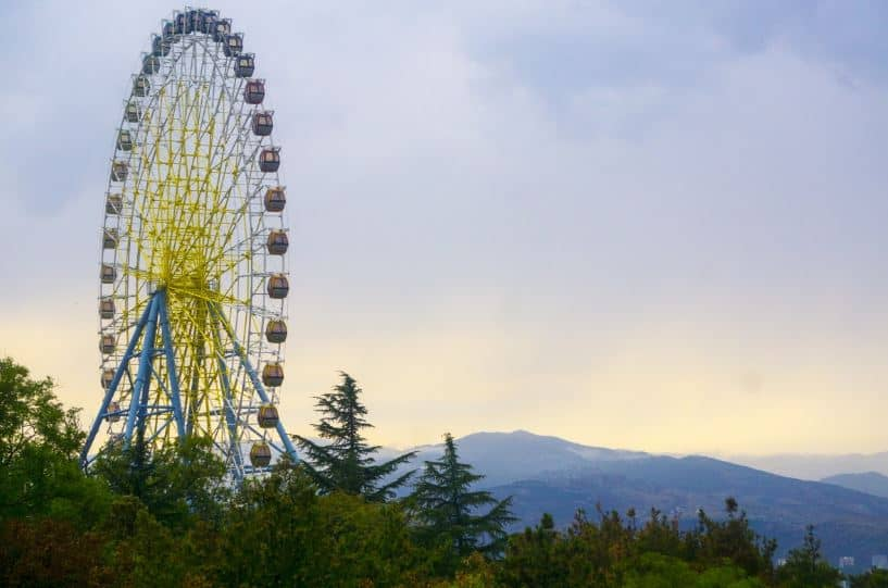 Mtatsminda Amusement Park - Georgia With Kids