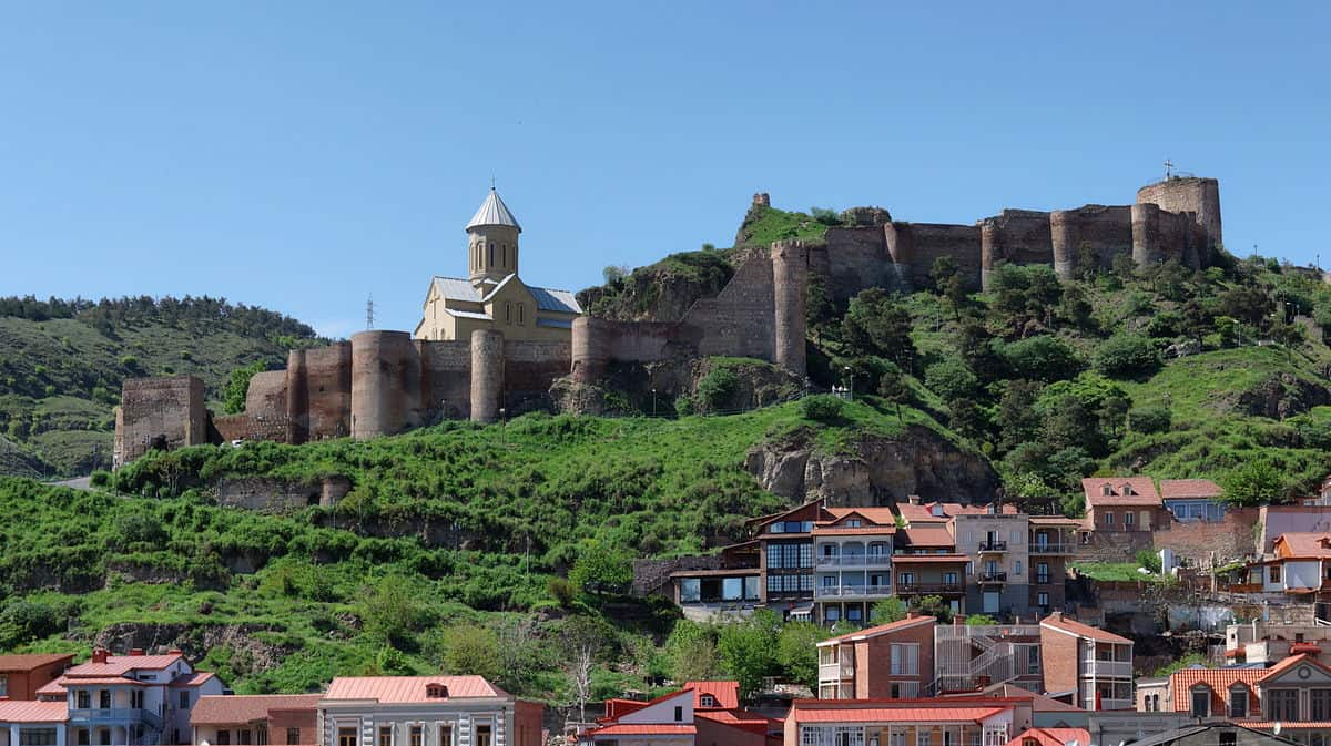 Narikala Fortress - Georgia With Kids