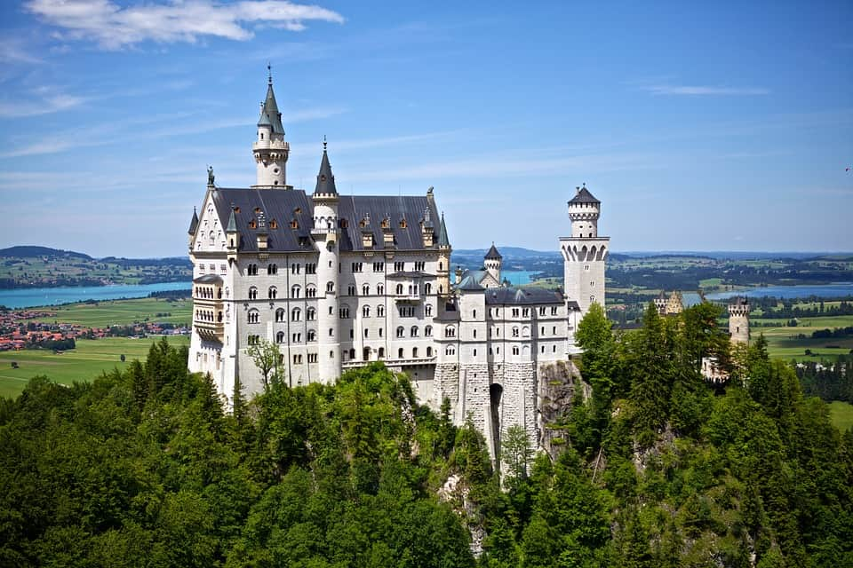 Neuschwanstein Castle - Germany With Kids