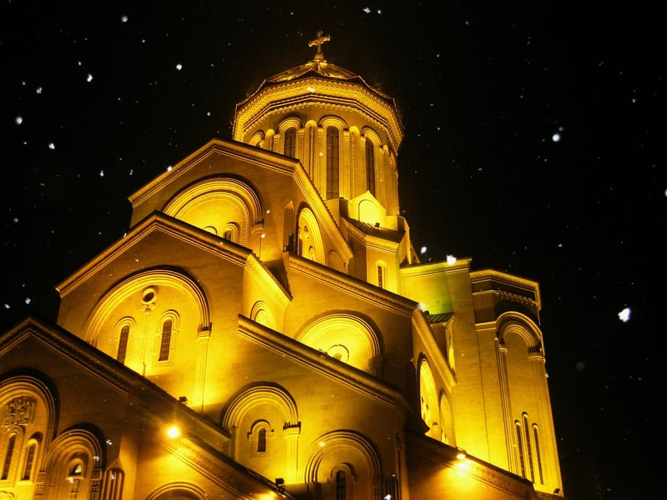 Sameba Cathedral - Georgia With Kids