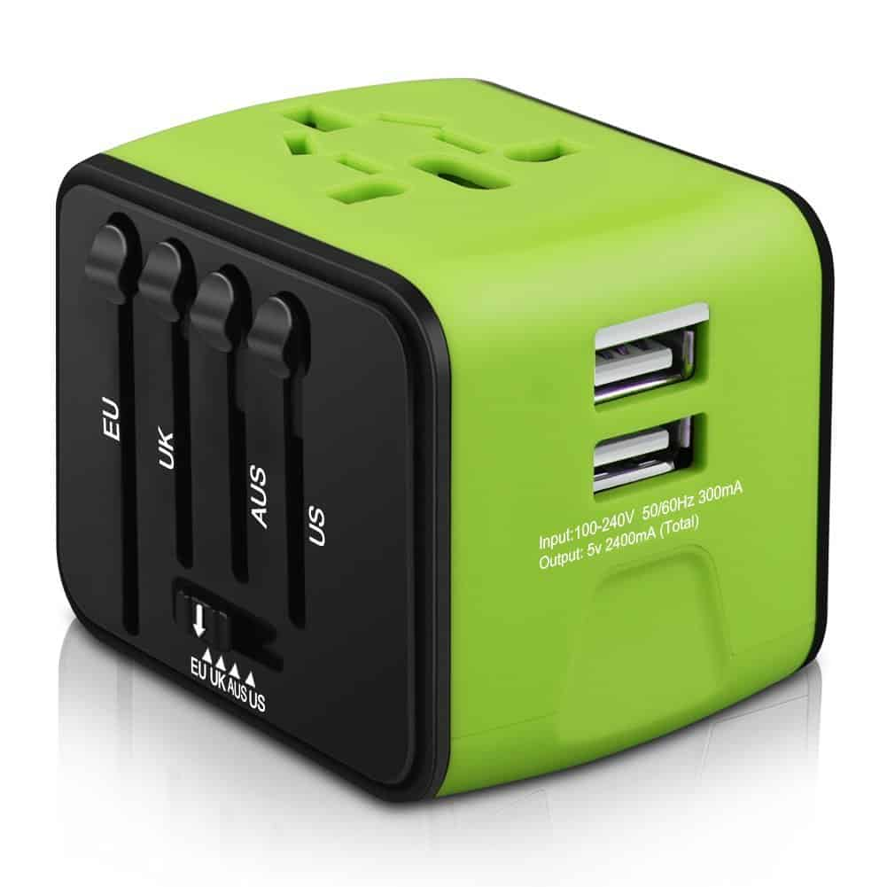Universal Travel Adapter - Travel Must-haves for International Travel