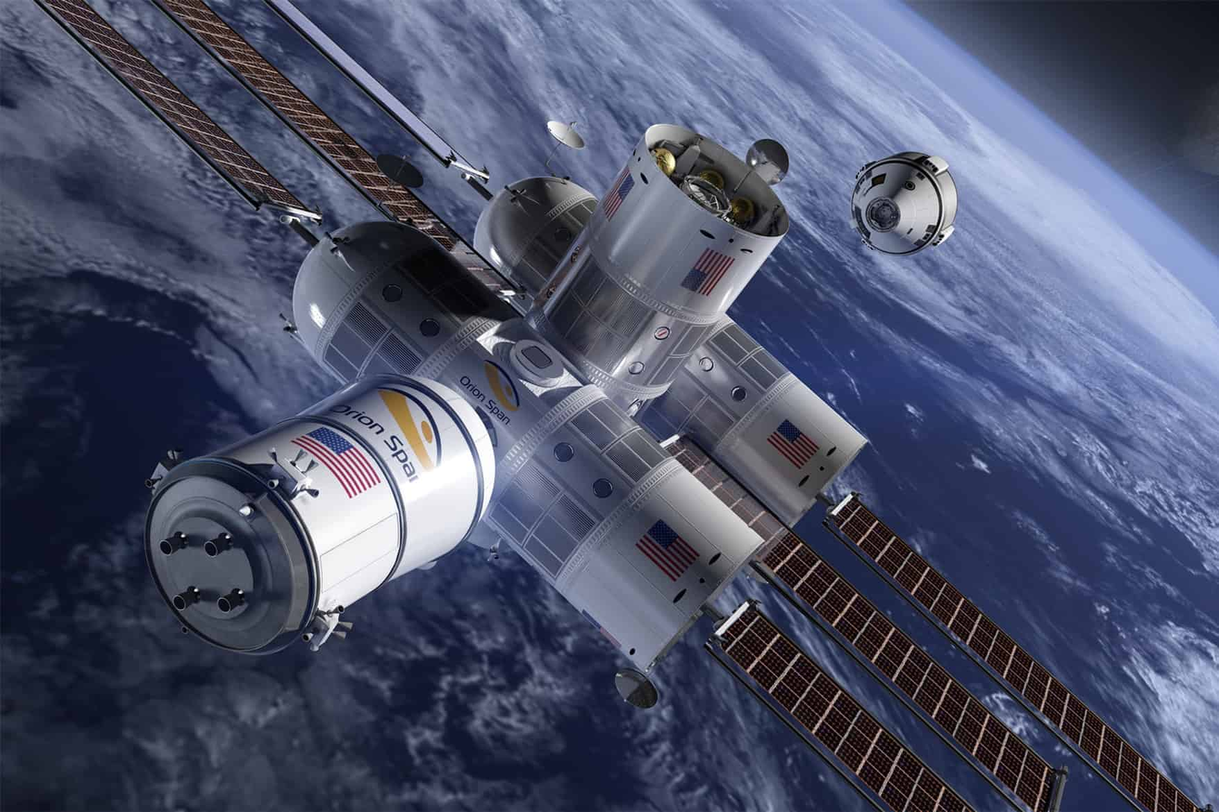 First Luxury Space Hotel