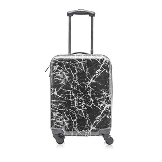 "Cosmopolitan Fashion 21"" Flight Legal Hardcase Carry-on Suitcase  - Tips for Picking the Best Travel Luggage"