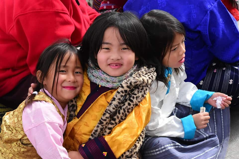 Kids in Bhutan - Bhutan With Kids