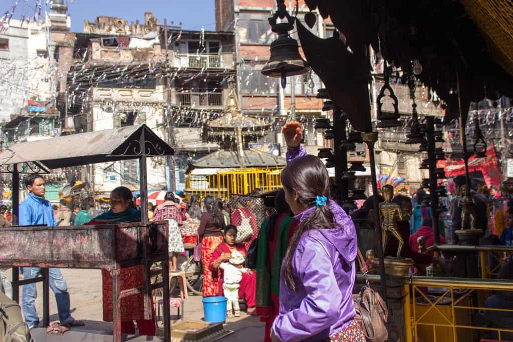 Kathmandu's Bazaar - Nepal With Kids