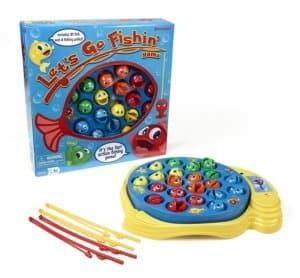 Let's Go Fishin' - Travel Games for Kids