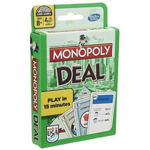 Monopoly Deal - Travel Games for Kids