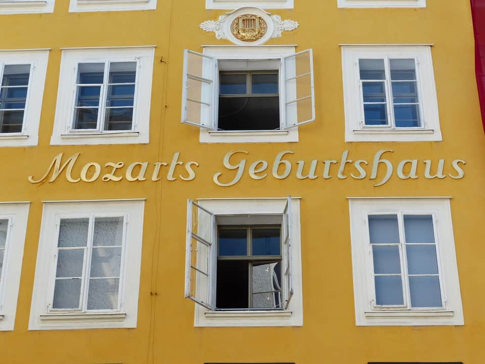 Mozart's birthplace - Salzburg With Kids