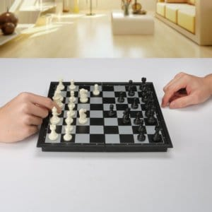 QuadPro magnetic Travel chess set - Travel Games for Kids