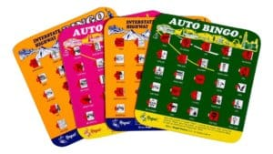 Regal Games Original Travel Bingo - Travel Games for Kids
