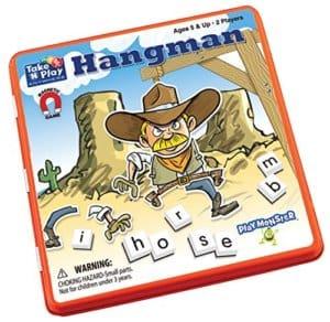 Take 'N' Play Anywhere - Hangman - Travel Games for Kids