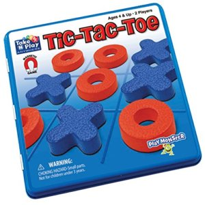 Take 'N' Play Anywhere - Tic-Tac-Toe - Travel Games for Kids