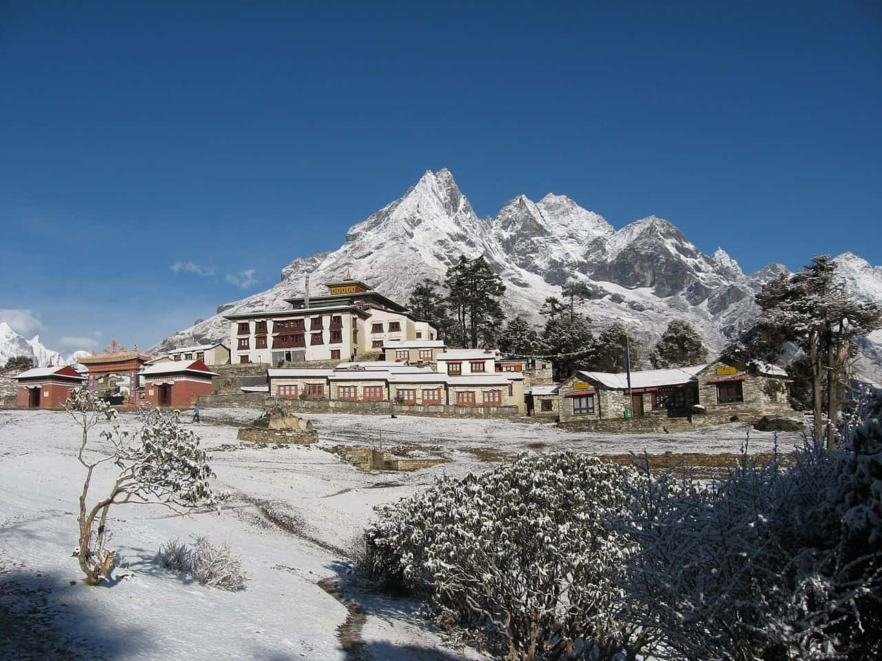 Tangboche Monastery - Nepal With Kids