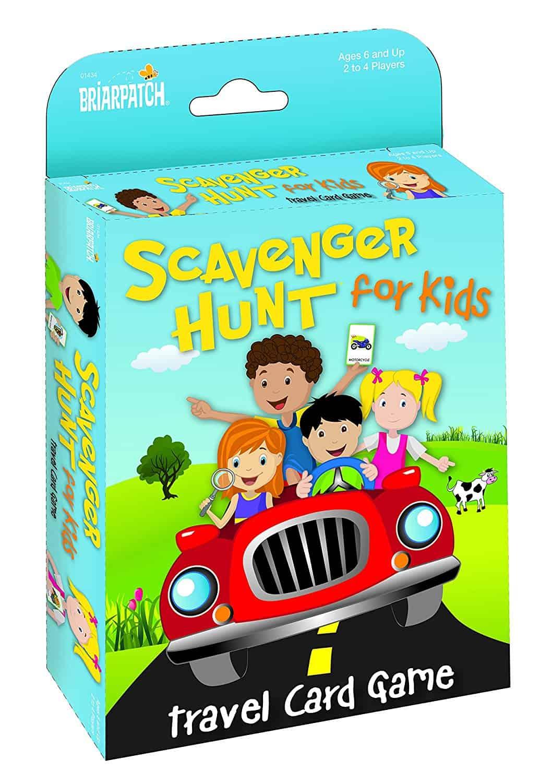 Travel Scavenger Hunt Card Game - Travel Games for Kids