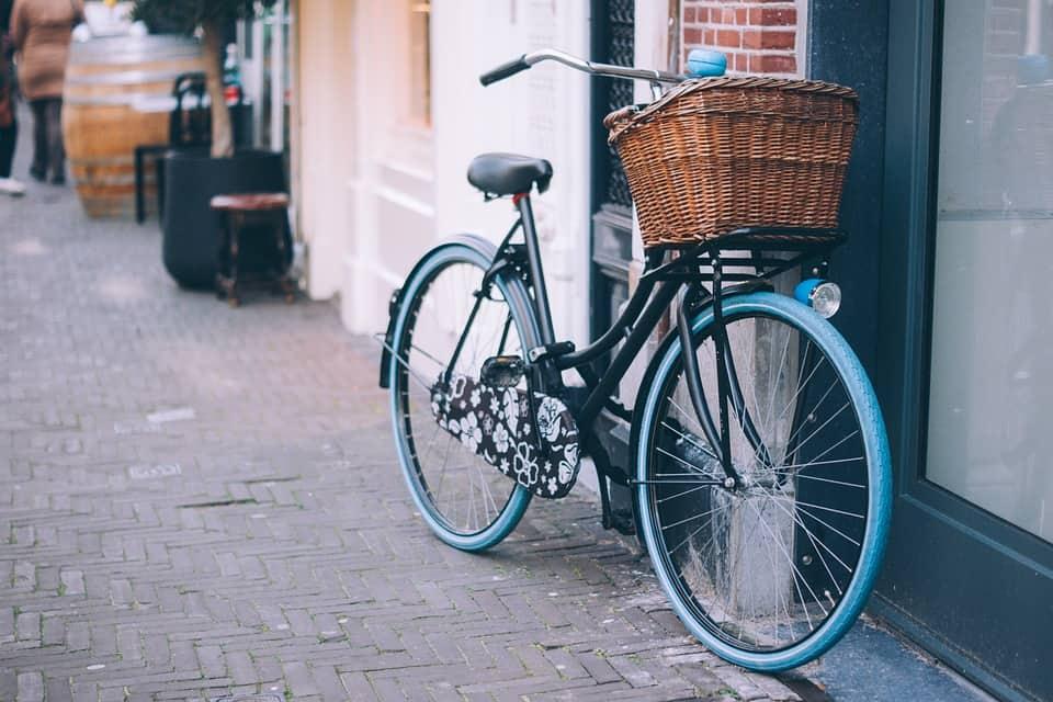 Biking in Zurich